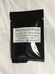 Alien Apple Wrap