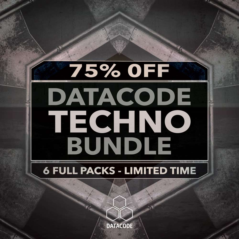 Loopmasters Exclusive - Datacode Techno Bundle for 75% Off!