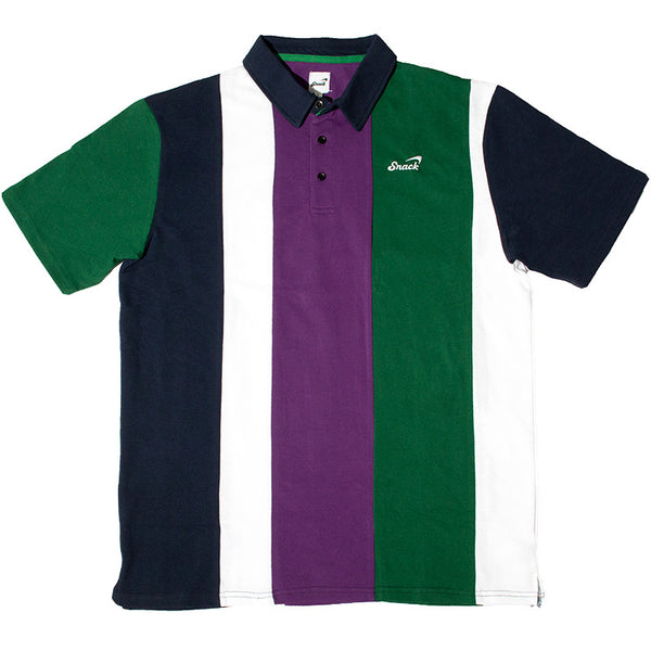 ALIVE VERTICAL STRIPE POLO
