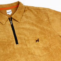 BUCK CORDUROY QUARTER ZIP