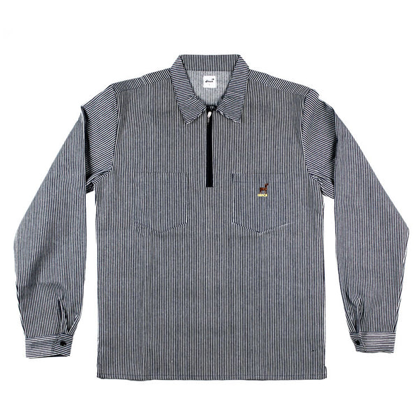 BUCK QUARTER ZIP WORK SHIRT