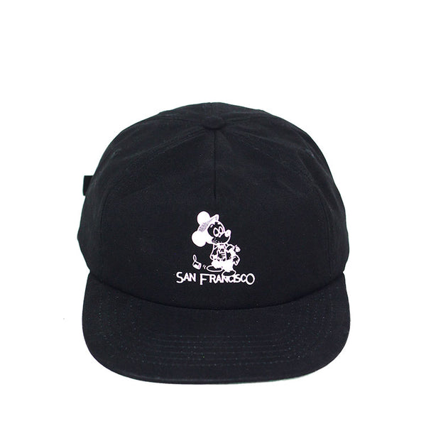 SEEIN THE SIGHTS HAT - BLACK