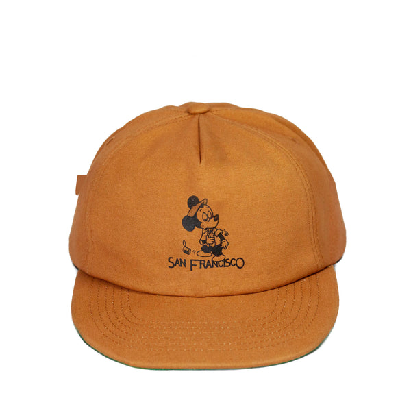 SEEIN THE SIGHTS HAT - RUST