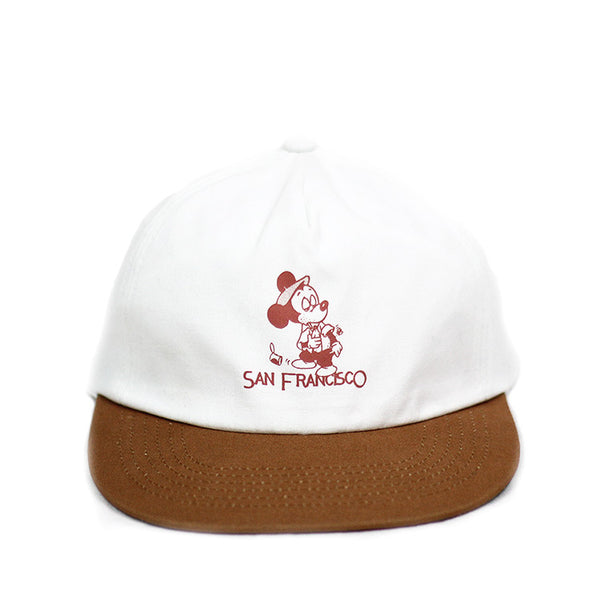 SEEIN THE SIGHTS HAT WHITE/RUST