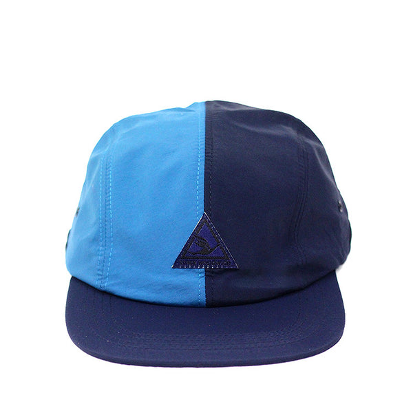 SUPER SPORT 4 PANEL HAT NAVY/AQUA