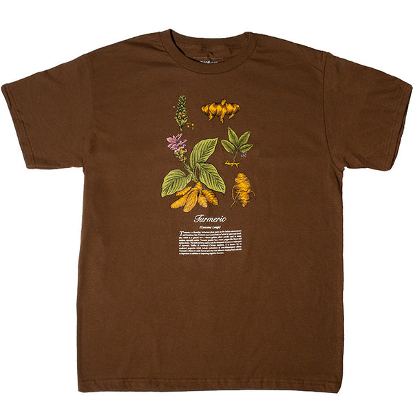 TURMERIC TEE - BROWN