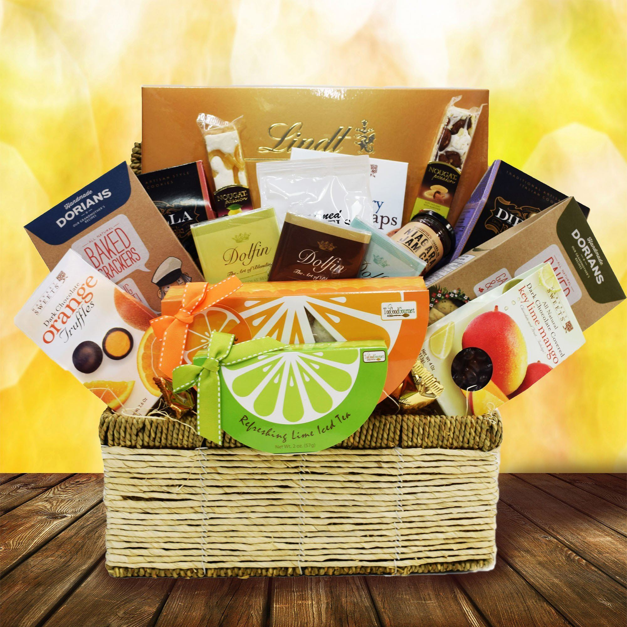 Canada Gift Delivery Is Possible With Yorkvilles Gift Baskets We Can Send This Basket Anywhere