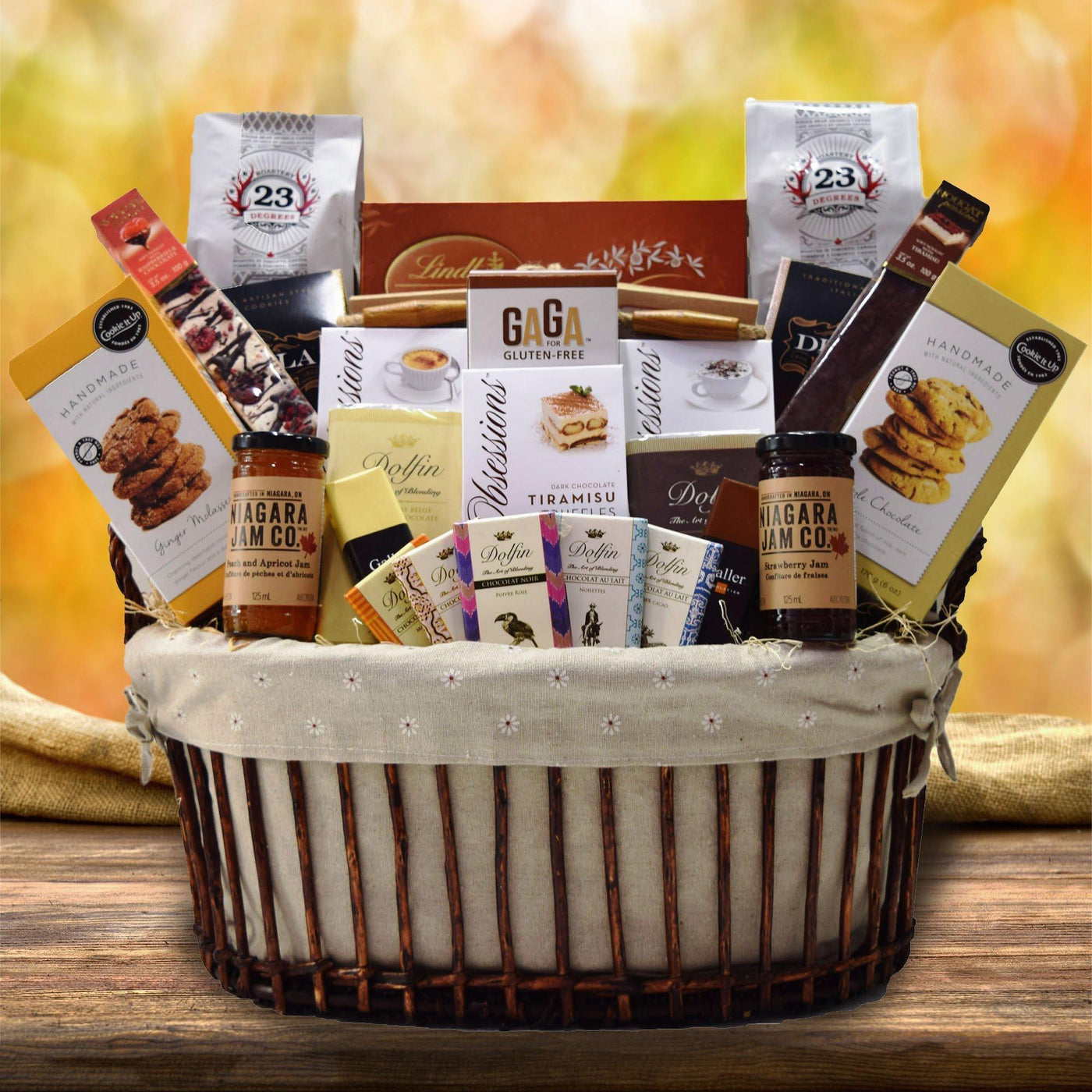 The ghostly gourmet halloween gift basket yorkvilles usa the chocolate medley gift basket negle Gallery