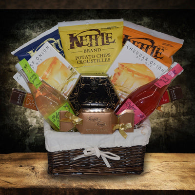 The Grand Snack Gift Basket