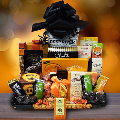 The Ghostly Gourmet Halloween Gift Basket