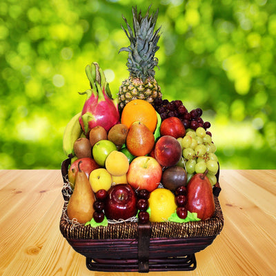 Tropical Feast Fruit Gift basket
