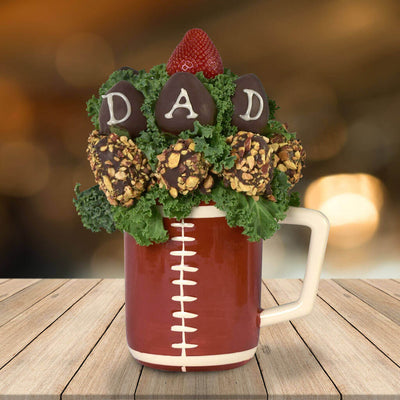 """For the Football Lover"" Father's Day Gift Basket"