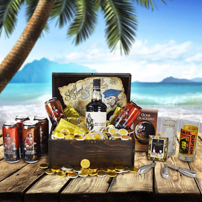 Captain Morgan's Pirate Chest With Snacks