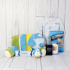 BABY ARRIVES IN STYLE GIFT SET, baby gift basket, welcome home baby gifts, new parent gifts