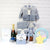 WISH UPON A SHOOTING STAR BABY BOY GIFT SET WITH CHAMPAGNE