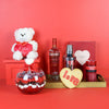 Romance is Sweet Gift Basket, liquor gift baskets, gourmet gift baskets, gift baskets, Valentine's Day gift baskets