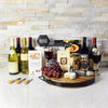 Cassa Con Sei Vini Wine Gift, gift baskets, gourmet gift baskets, wine gift baskets, wine & cheese gift baskets