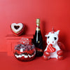 Sweet Valentine's Day Celebration Basket