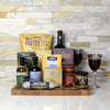 Cheese Charcuterie and Wine Rustic Gift Basket, gift baskets, wine gift baskets, gourmet gift baskets, snack gift baskets