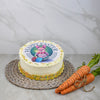 Large Rainbow Easter Cake