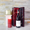 Candlelight Wine & Truffles Gift Basket