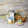Easter Cake & Wine Gift Basket