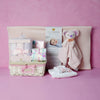 BABY GIRL CHANGING & SWADDLING SET