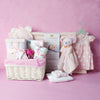 DELUXE BABY GIRL CHANGING SET