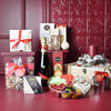 Holiday Champagne & Treats Gift Set