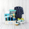 B IS FOR BOY GIFT BASKET, baby boy gift basket,, welcome home baby gifts, new parent gifts