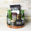 Appetizer & Six Pack Gift Set, beer gift baskets, gourmet gifts, gifts