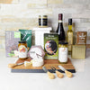The Rustic Wine & Spreads Gift Set, wine gift baskets, gourmet gifts, gifts