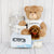 DELUXE BABY BOY ANIMALS COMPANION SET