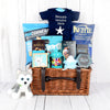 HUSKIE FRIEND FOR BABY GIFT BASKET