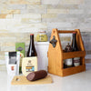 Beau's Beer Meat and Treats Rustic Gift Basket, beer gift baskets, gourmet gift baskets, gift baskets, gourmet gifts