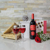 Mother's Day Truffles & Wine Gift Basket
