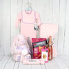 RING A RING O'ROSES CUTE GIRL GIFT SET, baby girl gift basket, welcome home baby gifts, new parent gifts