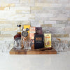 Bold & Powerful Liquor Board, liquor gift baskets, gourmet gift baskets, gift baskets, gourmet gifts