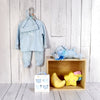 BABY BOY BEDTIME GIFT SET, baby boy gift hamper, newborns, new parents