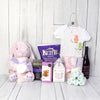 CUTEST NEWBORN GIFT SET, baby girl gift basket, welcome home baby gifts, new parent gifts