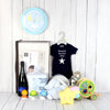 BABY BOY'S LITTLE STAR CELEBRATION SET, baby boy gift hamper, newborns, new parents