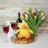 Thirsty Duck Gift Basket, Easter gift baskets, wine gift baskets, gourmet gift baskets, gift baskets, holiday gift baskets