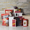 Great Snacking Liquor Box, liquor gift crates, gourmet gift crates, gift crates