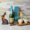 Easter Champagne & Cupcakes Gift Set, Easter gift baskets, champagne gift baskets, gourmet gift baskets, gift baskets, holiday gift baskets