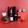 Wine & Roses Gift Basket