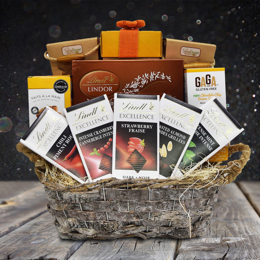 Halloween gift baskets yorkvilles usa lindts excellence gift basket negle Image collections