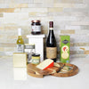 Delish Dipper, Cheese & Wine Set, wine gift baskets, gourmet gift baskets, gift baskets, gourmet gifts