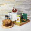On the Go Coffee & Cake Gift Set, gourmet gift baskets, gourmet gifts, gifts