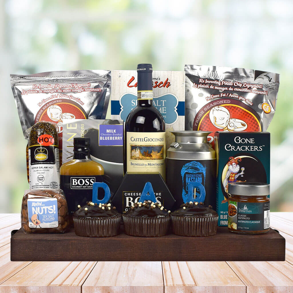 Dad's Gourmet Bounty Father's Day Gift Basket