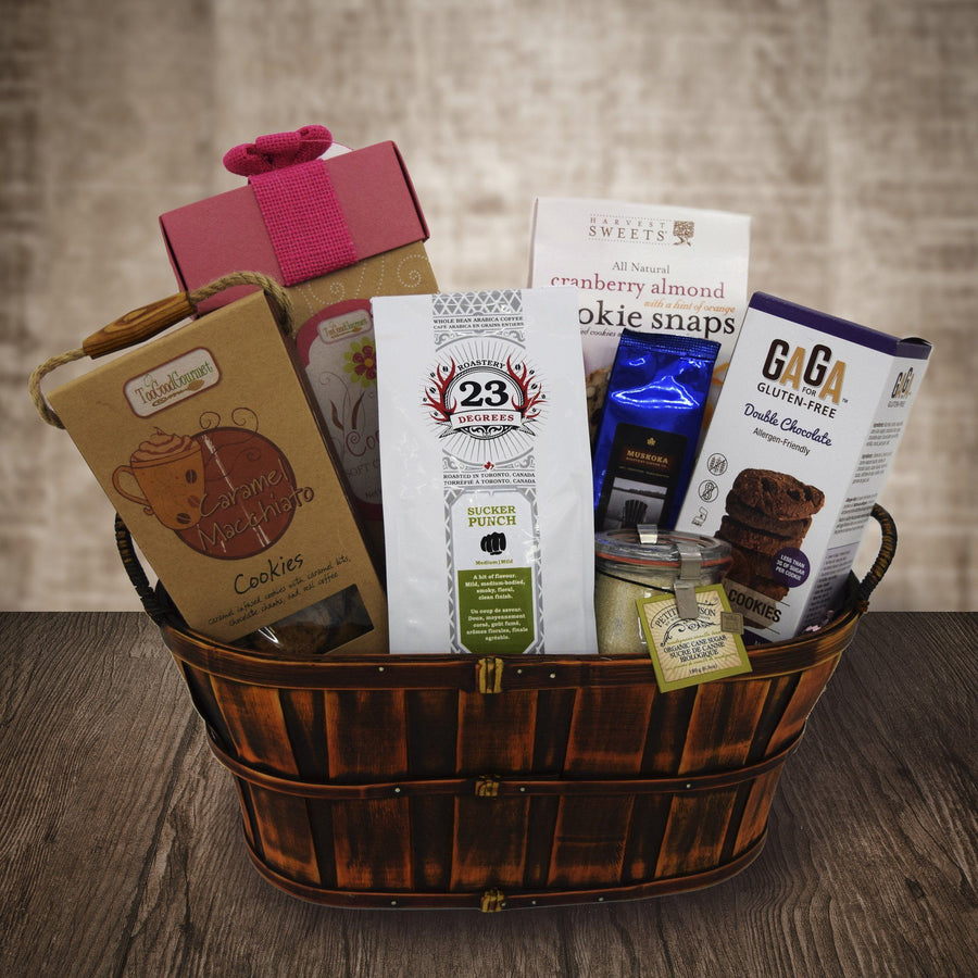 Sympathy gift baskets yorkvilles usa the coffee endulger gift basket negle